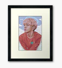 Jonghyun Tribute Framed Print