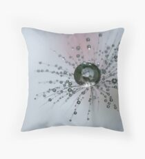 Dandelion Drop Ball Throw Pillow
