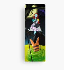 Sally The Nightmare Before Christmas Tightrope Girl Colored Canvas Print