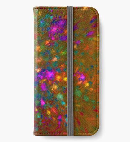 Autumn #fractal art iPhone Wallet