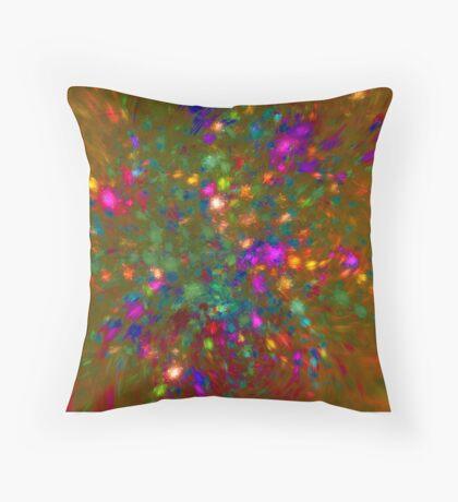 Autumn #fractal art Throw Pillow