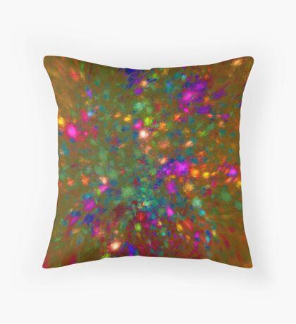 Autumn #fractal art Floor Pillow