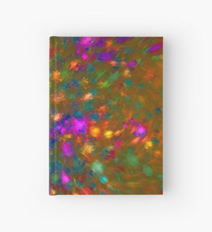 Autumn #fractal art Hardcover Journal