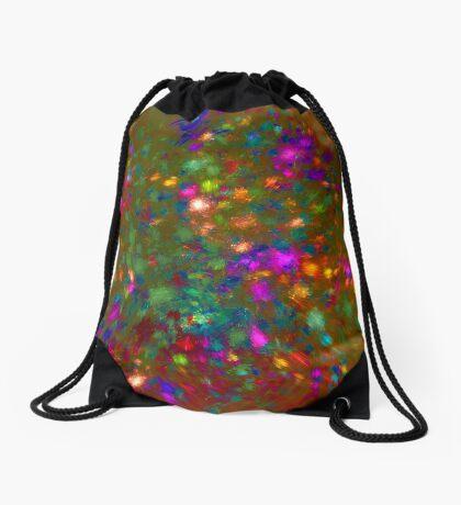Autumn #fractal art Drawstring Bag