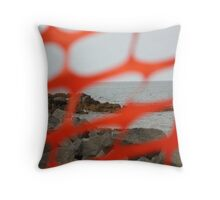 Constructed View Throw Pillow