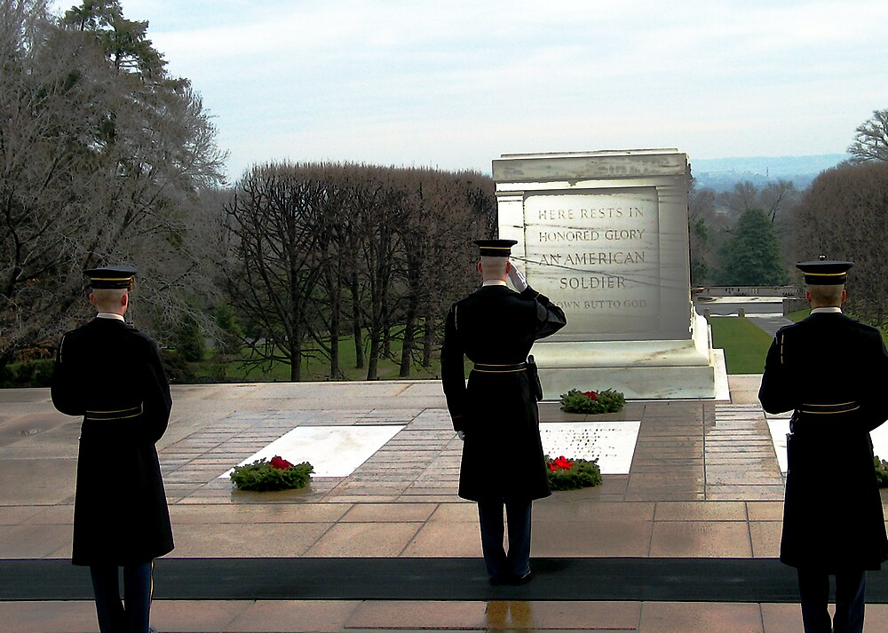 Tomb of the Unknowns by Fritzotic