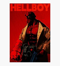 Hellboy Photographic Print