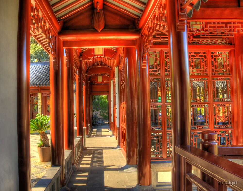 Chinese Garden by socalgirl