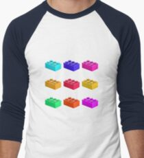 Warhol Toy Bricks Men's Baseball ¾ T-Shirt