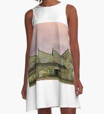 Cement Factory A-Line Dress