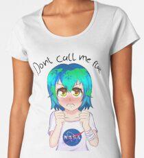 Dont Call Me Flat-Earth Chan Women's Premium T-Shirt