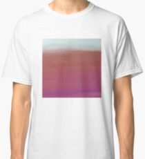 Gradient Colors - Purple->LightSkyBlue Classic T-Shirt