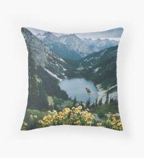 North Cascades Washington Throw Pillow