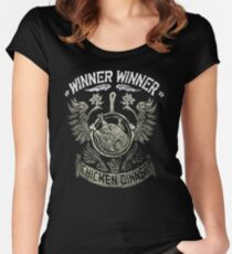 pubg pioneer  Women's Fitted Scoop T-Shirt