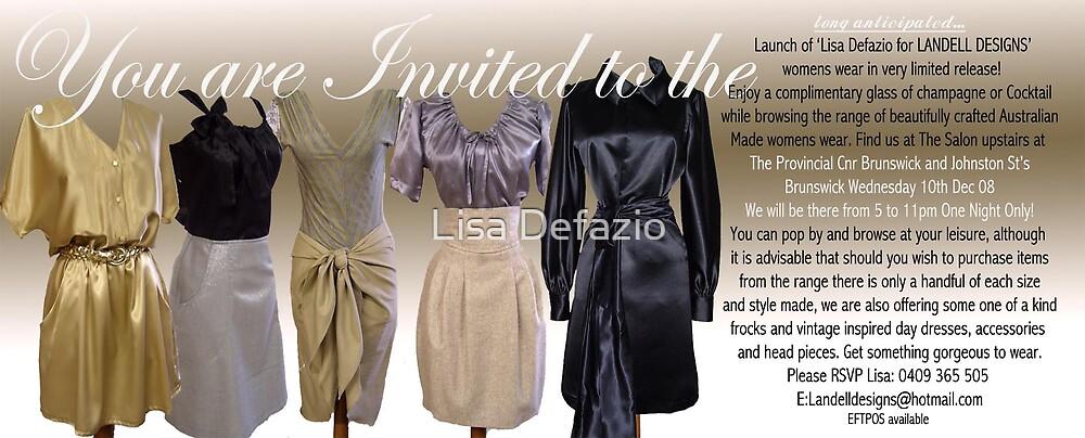 YOUR INVITATION! by Lisa Defazio
