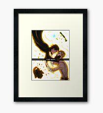 .: I fell apart:. Framed Print