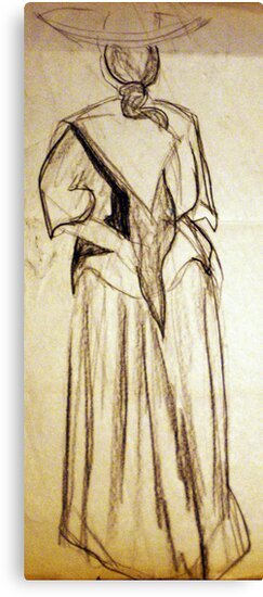 CLOTHED FIGURE DRAWING 25 by Tammera