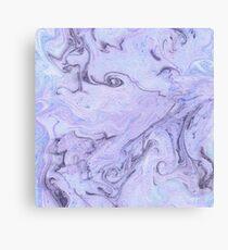 Marbly Lavender Canvas Print