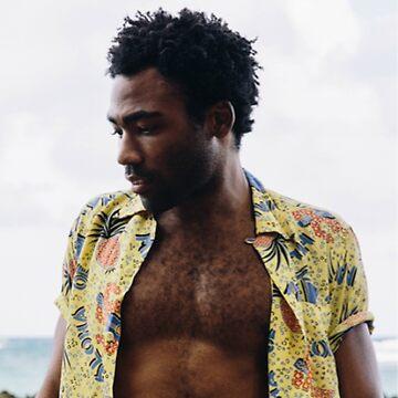 SEXY GAMBINO - Donald Glover Drucken von budgetnudest