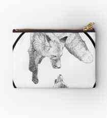The Fox Playing Studio Pouch