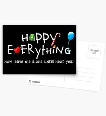 Happy Everything Postcards