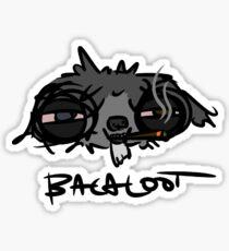 Faded Bacaloot Sticker