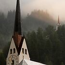 Swiss Church Spires by Jane McDougall