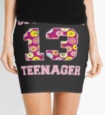 13 Official Teenager Thirteen 13th Birthday Mini Skirt
