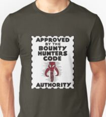 Bounty Hunters Code Authority T-Shirt