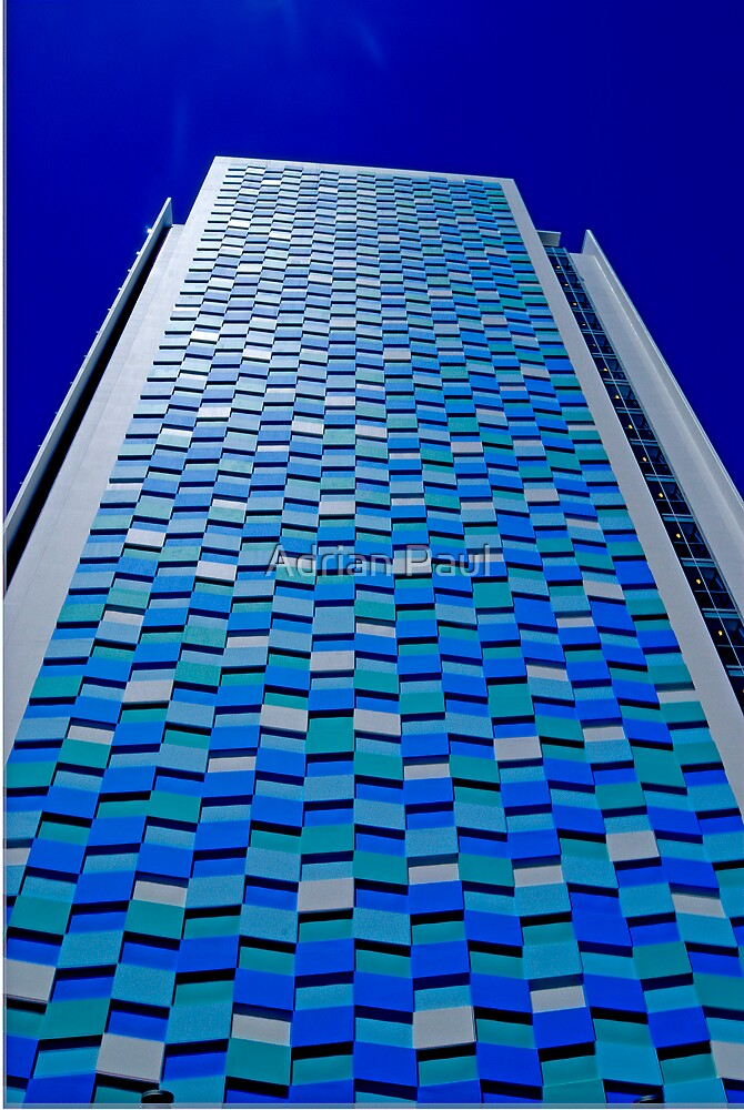 High Rise, Surfer's Paradise,  Queensland by Adrian Paul