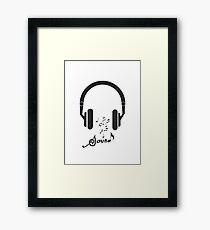 Sound of music Framed Print