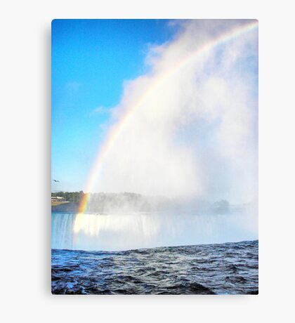 Rainbow Fall Canvas Print
