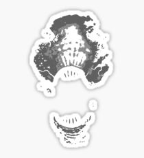 Scream in the night Sticker