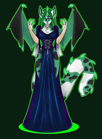 Countess Absinthe the Green Faerie by KeishaMaKainn