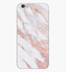 Vinilo o funda para iPhone Blush rosa oro mármol rosa