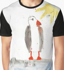 PAPAGEITAUCHER AQUARELL - PUFFIN WATERCOLOR Graphic T-Shirt