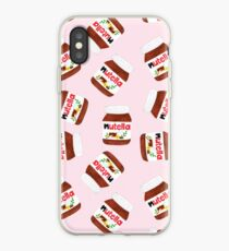 Nutella Forever - Scatter - Pink iPhone Case