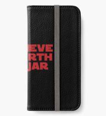 Darth Jar Jar (red, bold) iPhone Wallet/Case/Skin