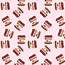 Nutella Forever - Scatter - Pink by makemerriness