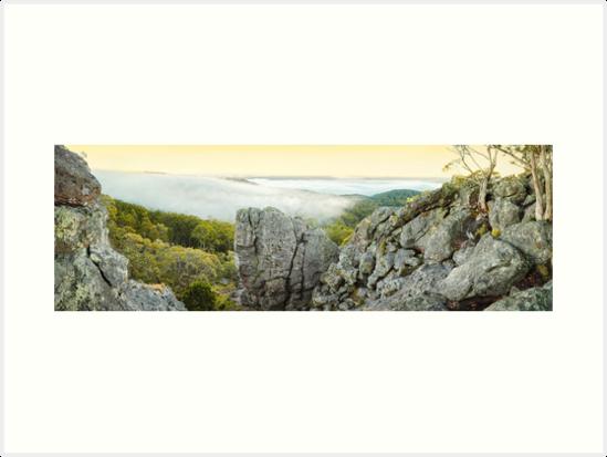 Mount Macedon Dawn, Victoria, Australia by Michael Boniwell