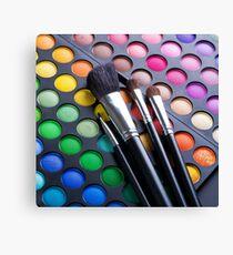 eye brush Canvas Print