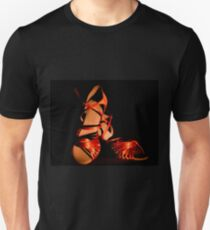 Latin and salsa dance shoes for  Unisex T-Shirt
