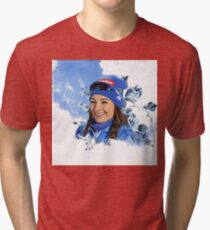 Dorothea Wierer biathlon Tri-blend T-Shirt