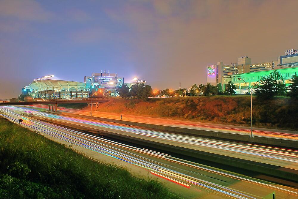 Carolina Panthers Football Stadium by ALEX GRICHENKO