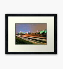 Carolina Panthers Football Stadium Framed Print
