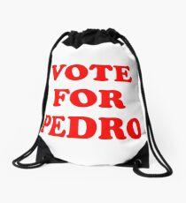 Vote For Pedro Sticker & T-Shirt - Gift For Movie Lover Drawstring Bag