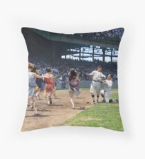 Al Schacht & Nick Altrock at MLB Opening game in Griffith Stadium in Washington D.C., 1924 Throw Pillow