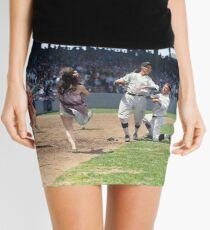 Al Schacht & Nick Altrock at MLB Opening game in Griffith Stadium in Washington D.C., 1924 Mini Skirt