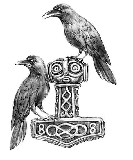 Image result for viking ravens