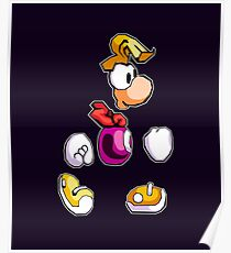 Back to 1995's Rayman! Poster